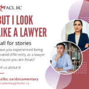 Cover image for new mini-documentary on Pan-Asian struggles in the BC Legal industry